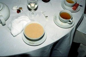 ピーナッツのスープ(デザート)