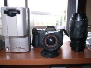 キャノンT80とフィルムスキャナー