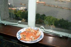青蟹の炒め物