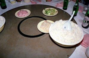 御飯と前菜