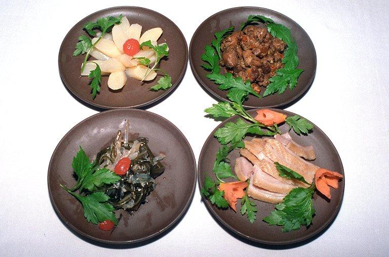 四種類の前菜