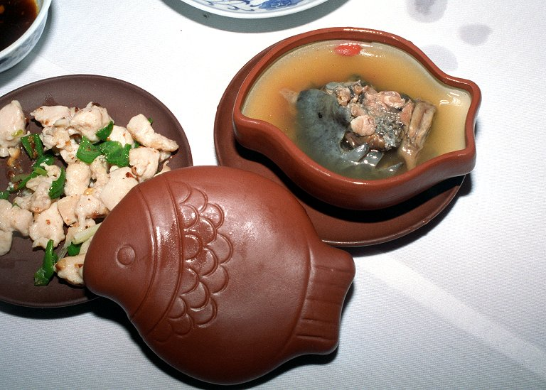 クコとすっぽんのスープ