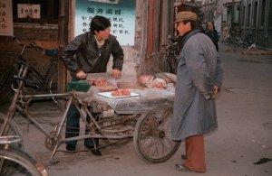 路上の肉屋さん