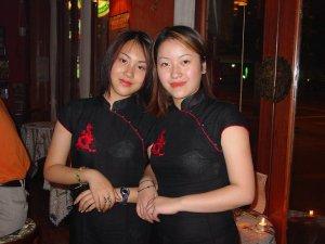 上海小姐@ナポレオンバー?