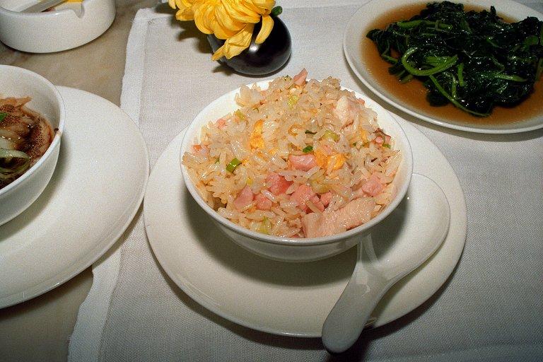 三文魚炒飯