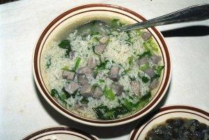 奉芋菜泡飯(里芋のおじや)
