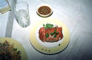 上海蟹のお作法@上海燕雲楼