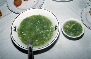 海草のスープ