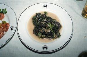 海苔とシジミの炒め物