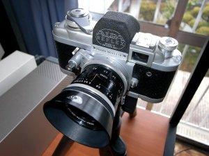 ケルンマクロスイター50mm F1.8+アルパモデル6b型レフレックス
