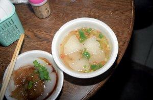 菜頭湯(大根のスープ)