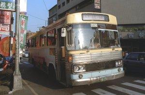 鹿港行きのバス