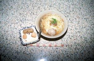 猫鼠麺、蝦団子他