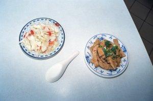 老唐牛肉麺と録記の肉まん@台南屋台食べ歩き