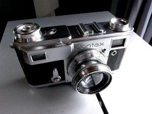 コンタックスⅡ型+ゾナー50mm,F2.0@Zeiss Ikon