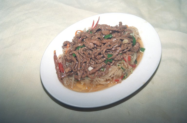 蘿葡絲炒牛肉