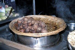 里芋の蒸し物@台北屋台食べ歩き