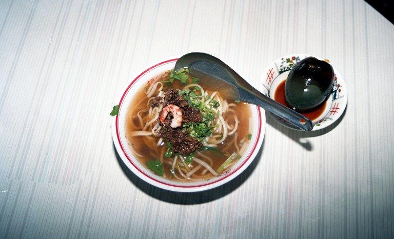 祖傳擔仔麺@台南屋台食べ歩き