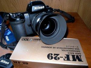 ニコンAi35mmF1.4+F100