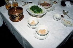 """国宴菜""""鶏湯川海蚌""""@西湖大酒店"""
