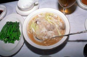 蟹肉会伊麺(会の字は火篇です)