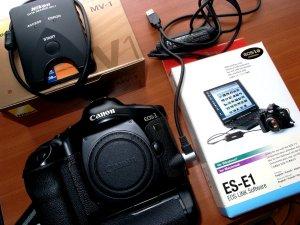 ES-E1 EOS LINK Softoware@EOS-1Vアクセサリー