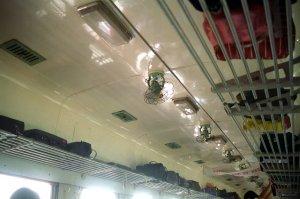 サウナ風呂のような硬座で広州へ@深圳一天旅遊