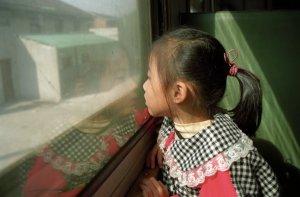 硬座の汽車で鎮江へ@揚州観光