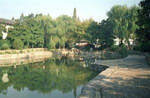 庭園風景@揚州西園飯店
