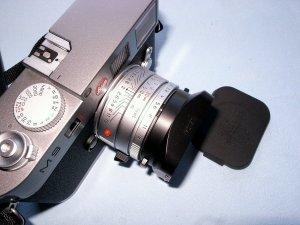 ズミクロン35mm,F2.0+ライカM9