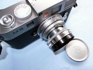 沈胴型ゾナー50mm,F2.0+ライカM9@KIPON Contax RF-L39 ADAPTER RING