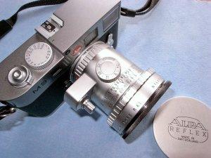Angenieux Retrofocus R61 24mmF3.5+ライカM9@KIPON Alpa-L39 Adapter Ring