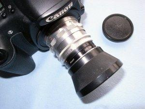 コンタックスS用テッサー50mmF2.8
