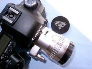 アンジェニュー90mmF2.5 TYPE Y12+キャノンEOS 5D MarkⅡ