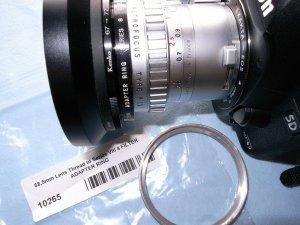 EXAKTAマウントAngenieux TYPE R11 28mmF3.5用ステップアップリング