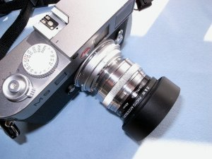 Carl Zeiss Jena Sonnar 50mmF1.5+ライカM9