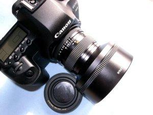 Planar T*50mmF1,4MMJ+EOS5D MarkⅡ@ハンザコンタックス・ヤシカEOSマウントアダプター