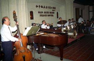 老年爵士楽隊@上海和平飯店