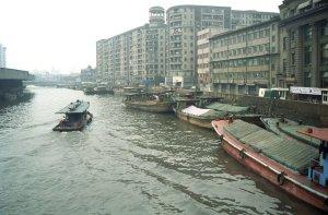 蘇州河@上海観光