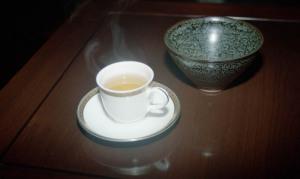 食事の前は極上のお茶で@馥園