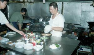 厨房@隆記菜飯