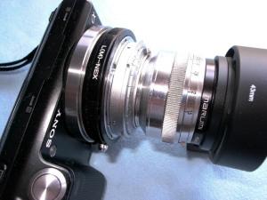CarlZeiss Jena Sonnar 50mmF1.5+NEX5@アダプター遊び