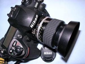 NIKKOR 28mmF2.0+D200
