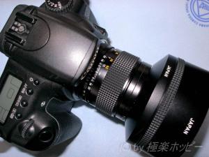 Carl Zeiss Sonnar T*85mmF2.8MMG+EOS20D@Y/Cマウントアダプター