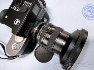 マウントアダプターC/Y-LM JAPAN@Distagon T*28mmF2.8MMJ++ライカM9
