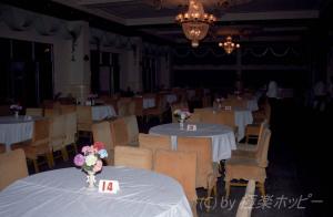 人民の席と外国人の席@成都餐庁
