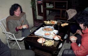 防空壕で麻婆豆腐@成都地下世界