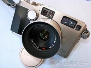 Planar T*35mmF2.0+CONTAX-G2