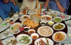 中国人の食卓@上海乍浦路