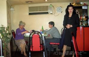 仙人のようなコックさん@上海日月酒楼